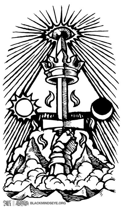 Illmonen-Ace of Swords Tattoo